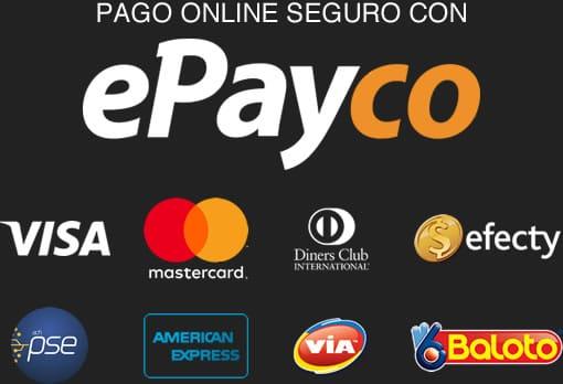 Pago online seguro con ePayco